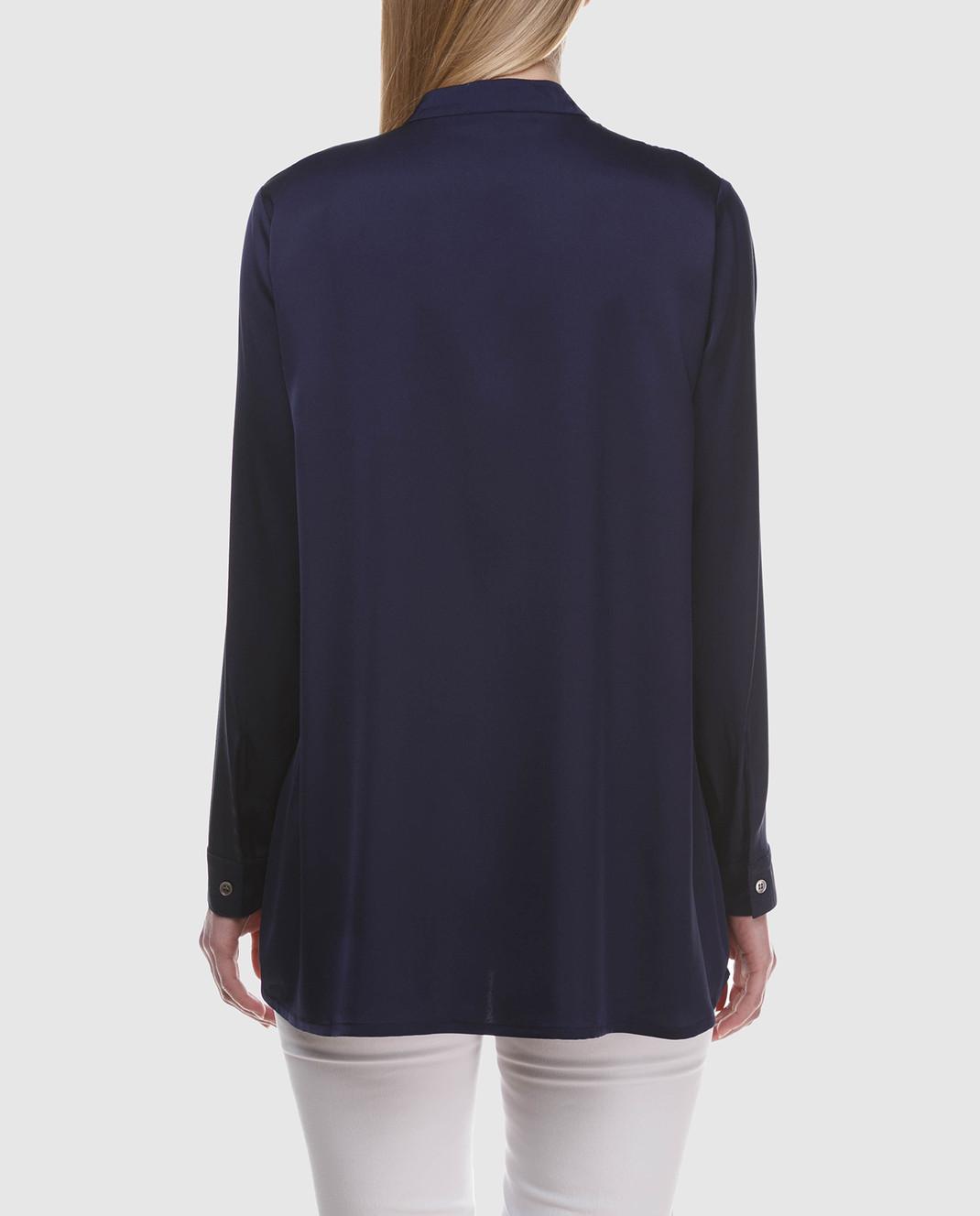 Allude Синяя блуза 18283003 изображение 4