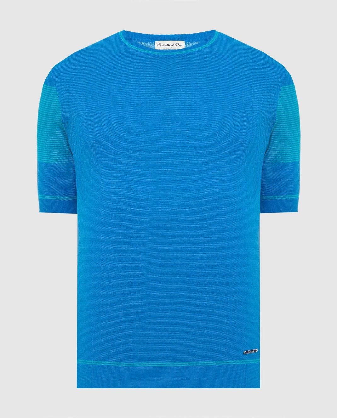 Castello d'Oro Синяя футболка изображение 1