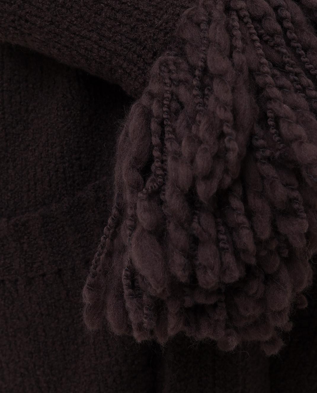 Bottega Veneta Коричневый кардиган из шерсти 525231 изображение 5