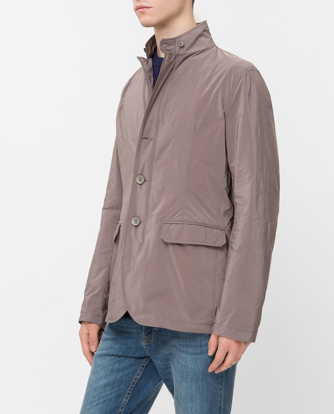 Herno Светло-коричневая куртка GA0074U изображение 3