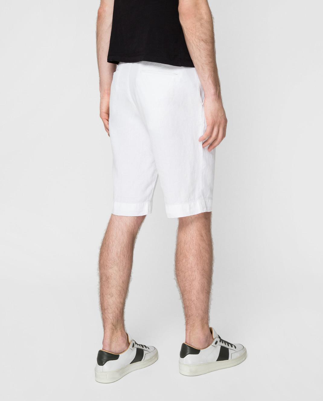 Kiton Белые шорты UPNJSBJ07R66 изображение 4