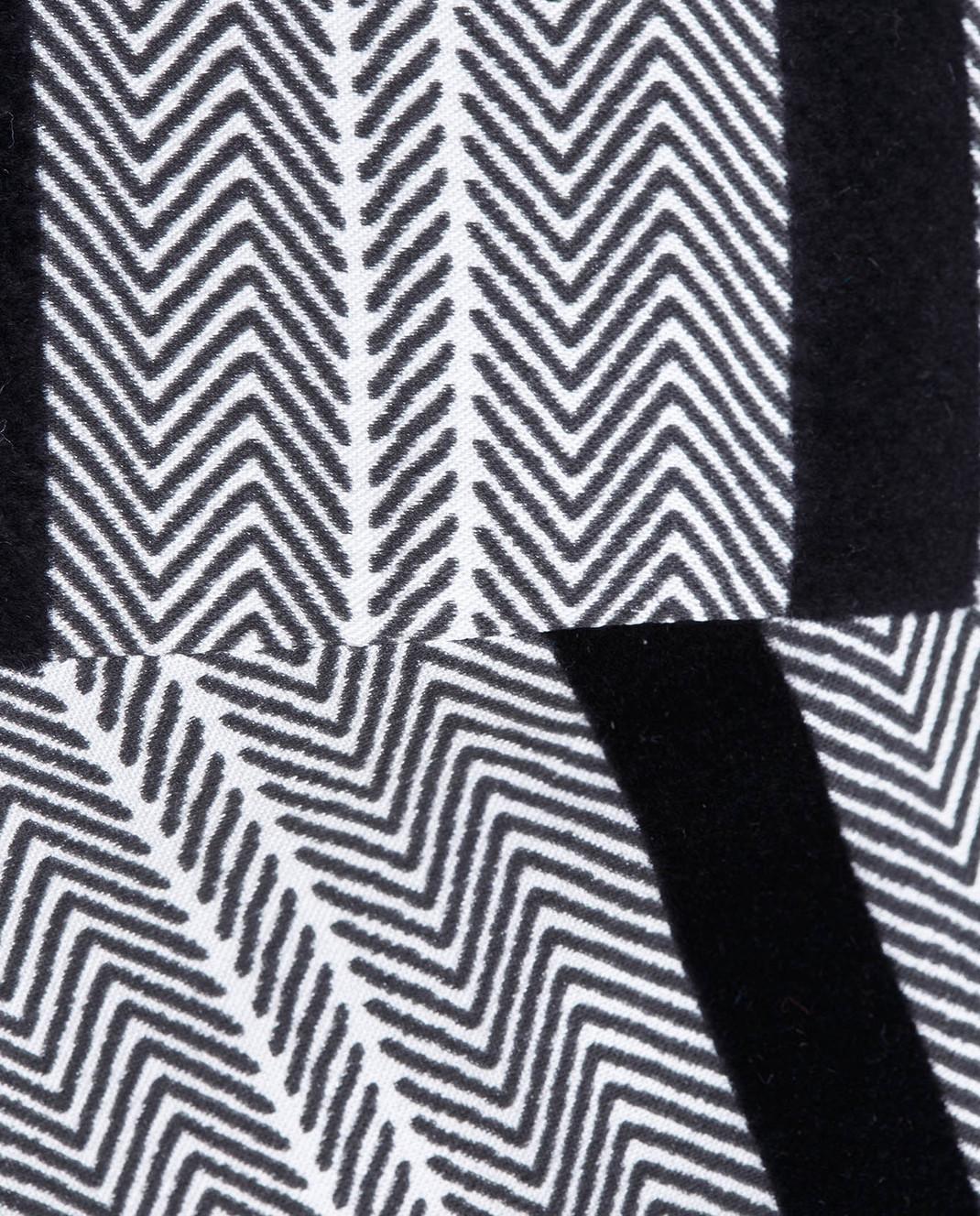 Etro Серая юбка из шелка изображение 5