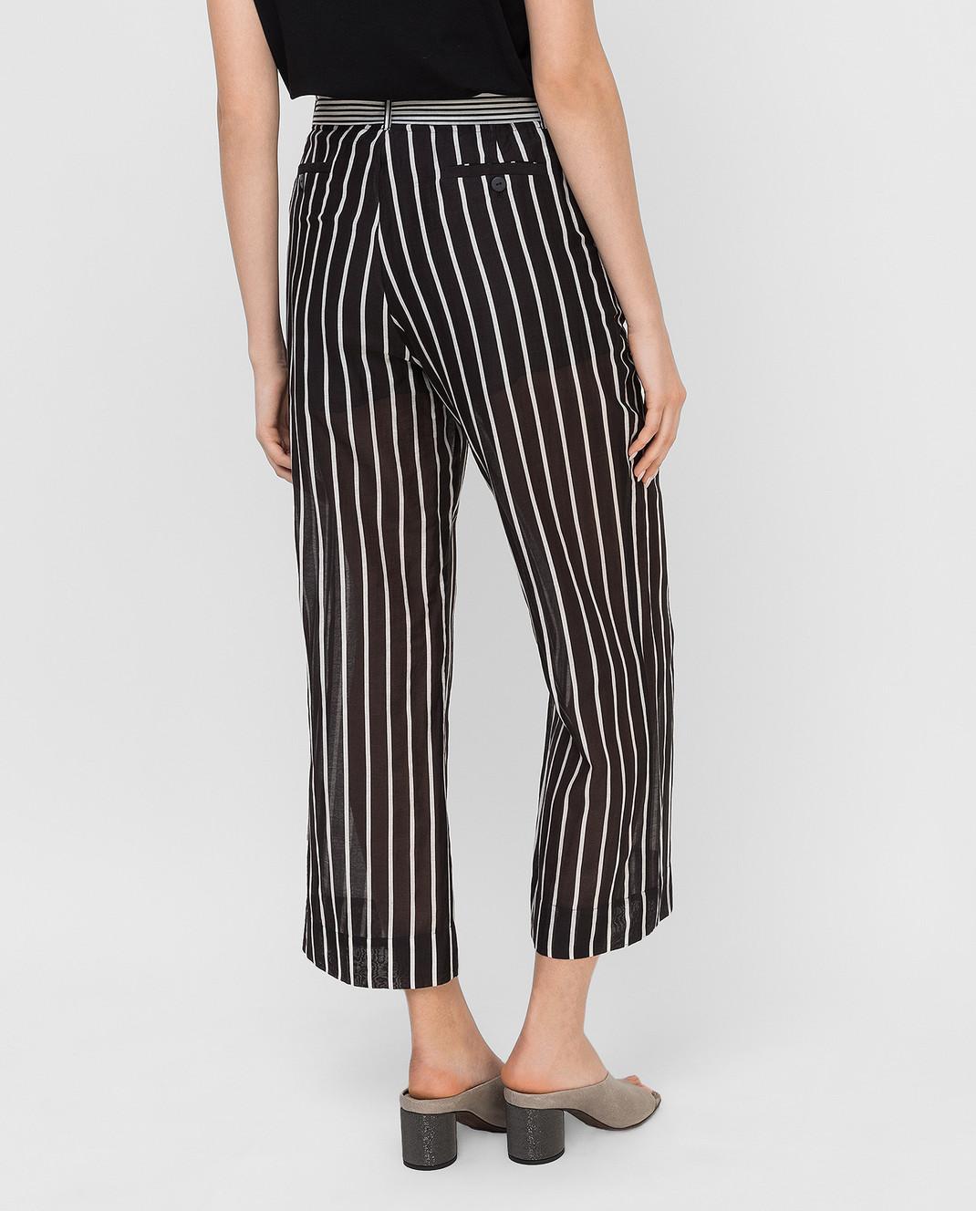 Twin Set Черные брюки TS82ZN изображение 4