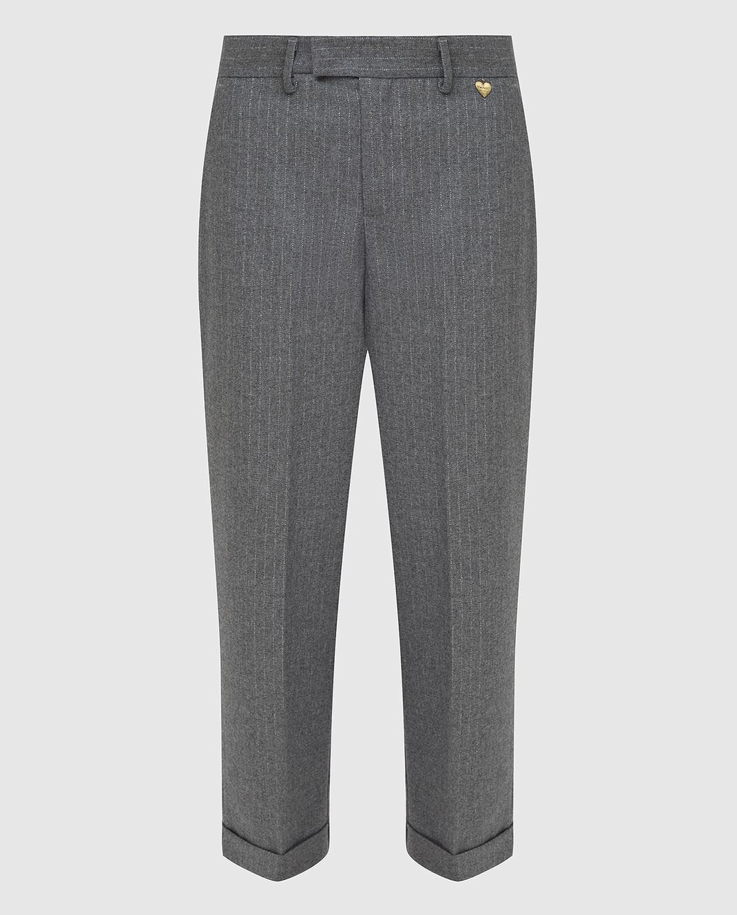 Twin Set Серые брюки изображение 1