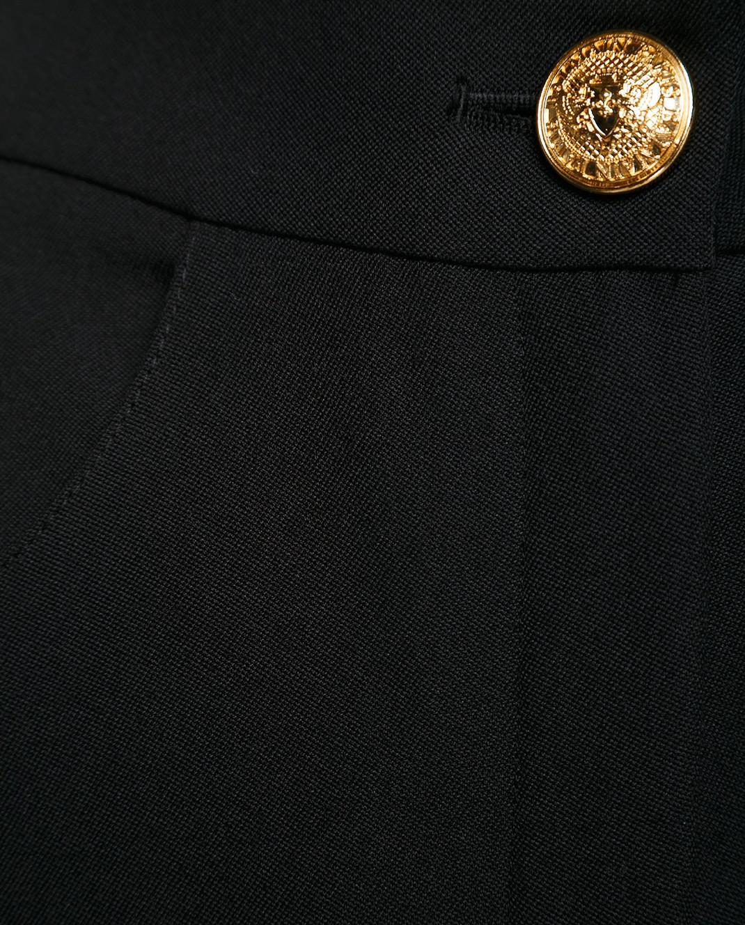 Balmain Черные брюки 135104 изображение 5