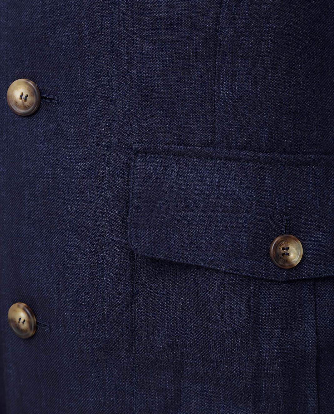 Brunello Cucinelli Синяя куртка MD4176848 изображение 5