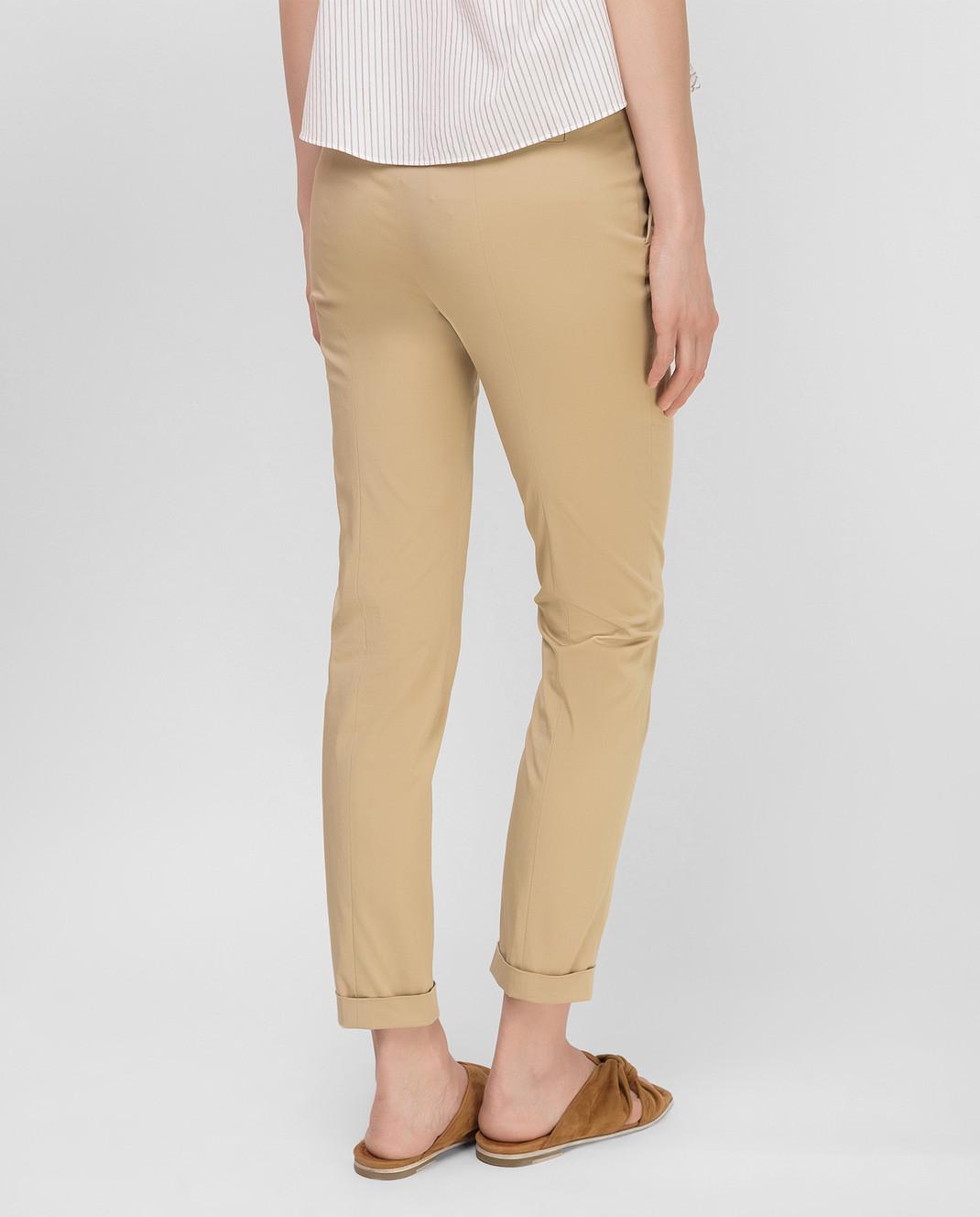Loro Piana Бежевые брюки F1FAI1447 изображение 4