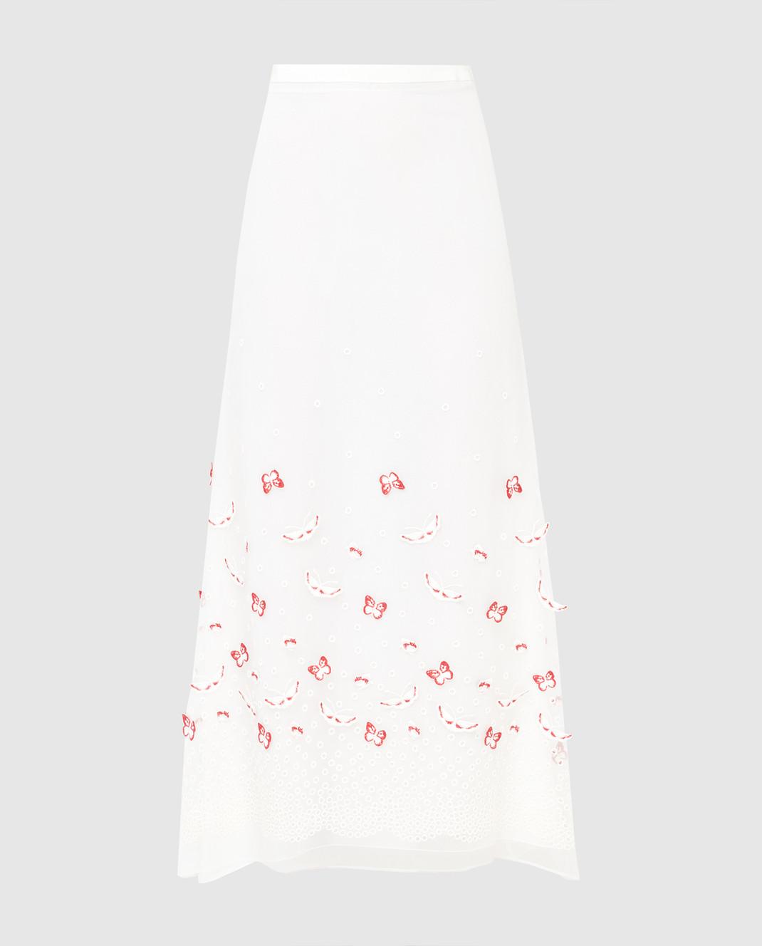 Giamba Белая юбка PG4072