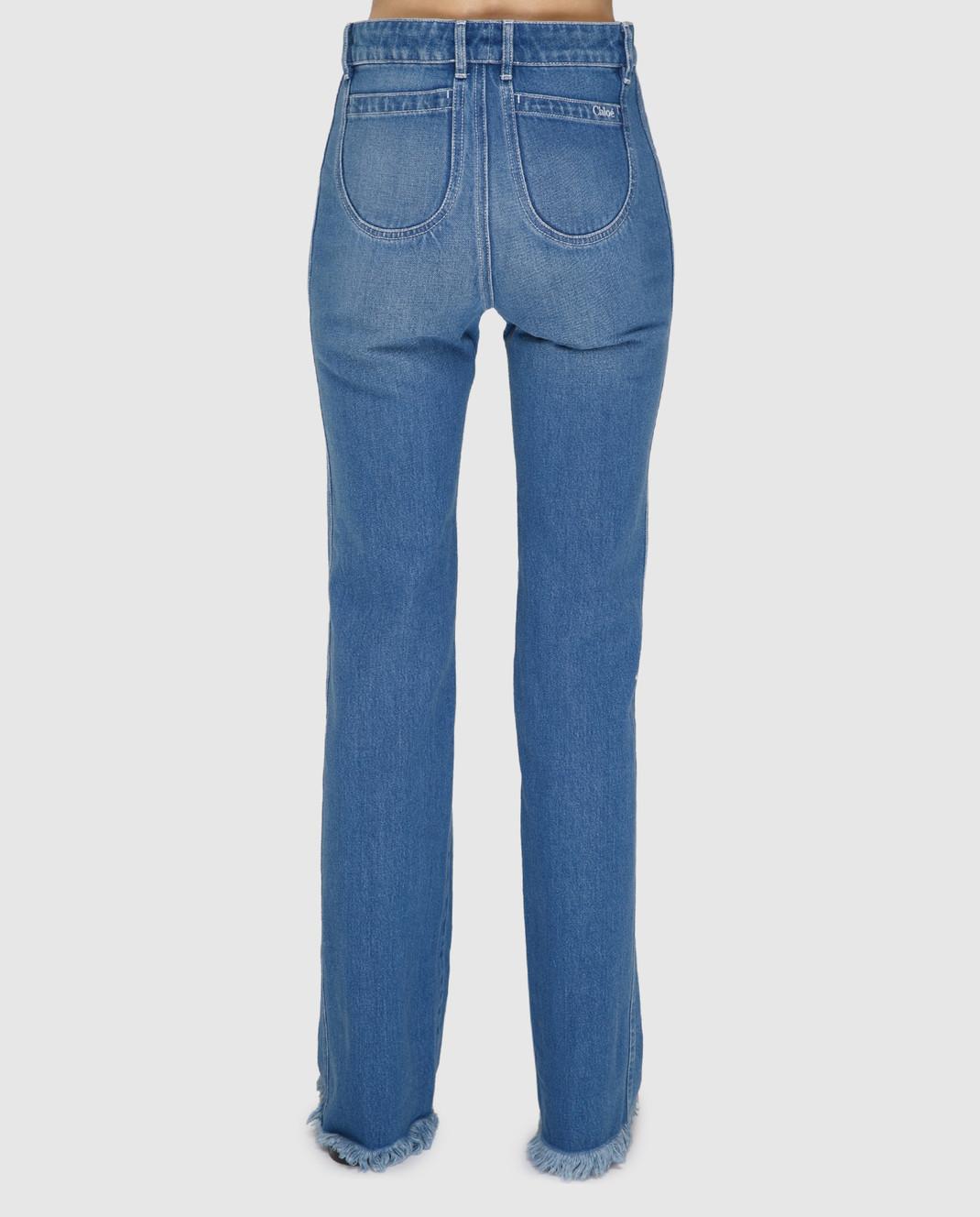 Chloe Голубые джинсы изображение 4