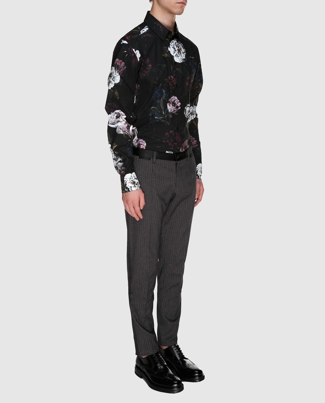 Dolce&Gabbana Бордовые брюки GYA5MTFRCB0 изображение 2