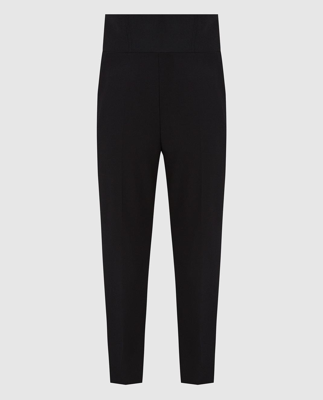 David Koma Черные брюки из шерсти изображение 1