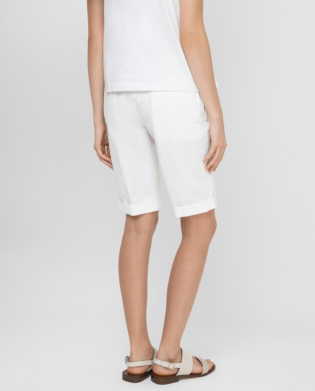 Marni Белые шорты PAMAN47A10TL234 изображение 4