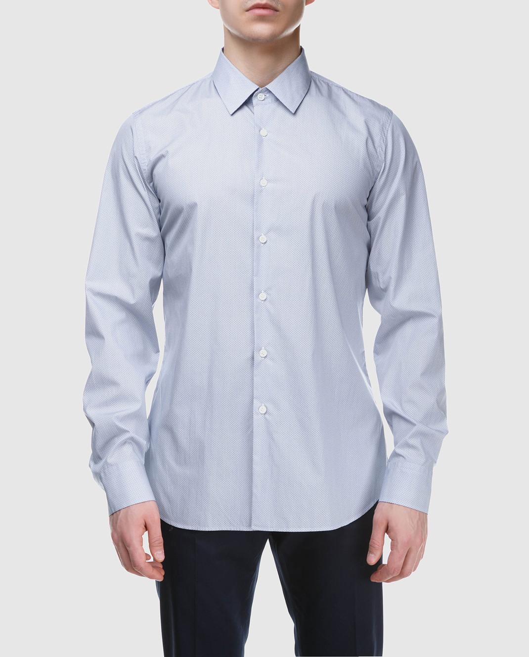 Prada Голубая рубашка UCM6081P9U изображение 3