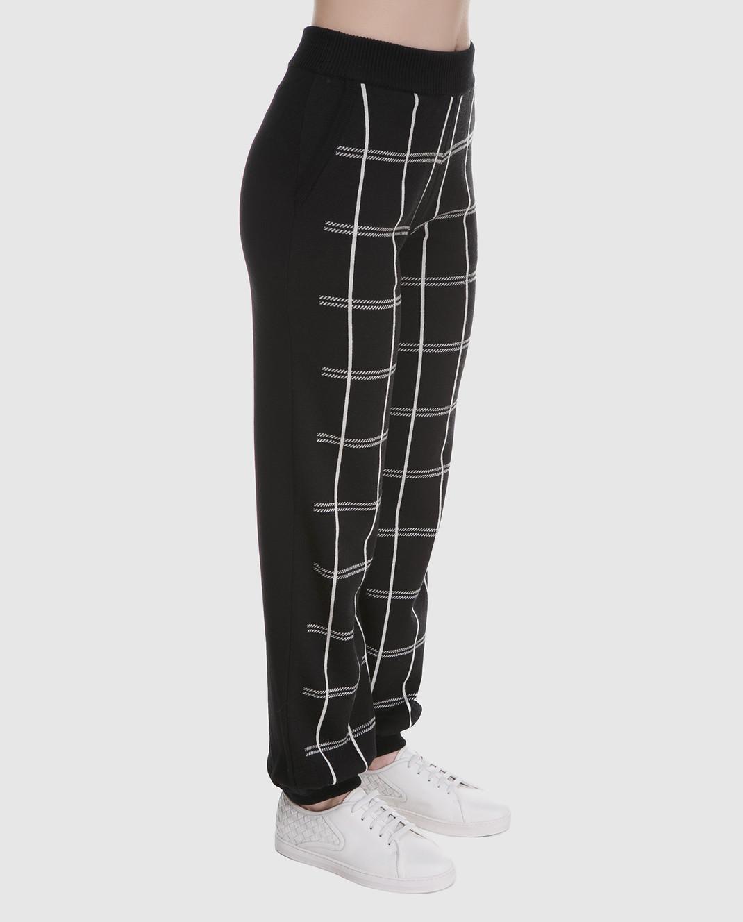Chloe Черные брюки из шерсти 18SMT01540 изображение 3
