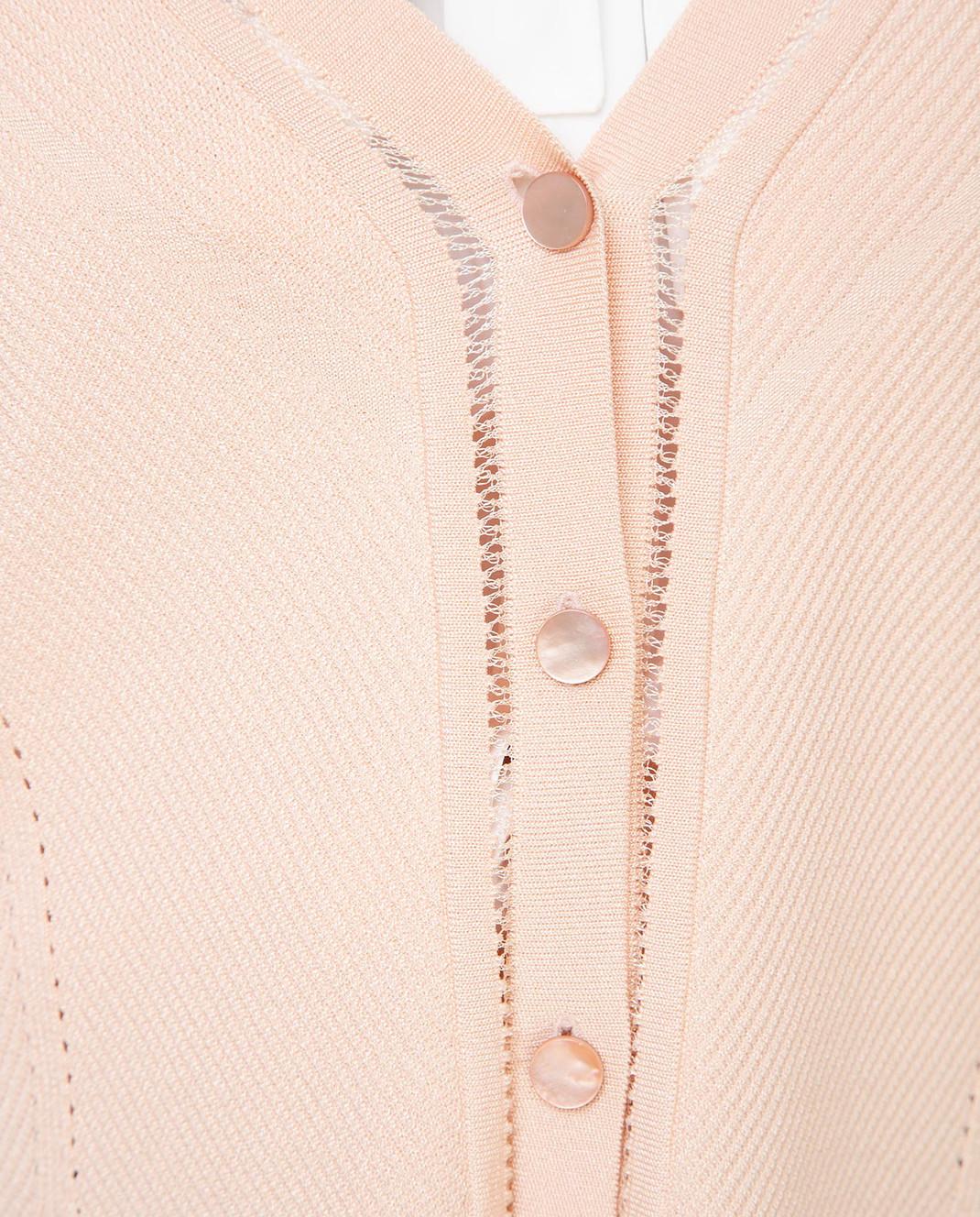 Balenciaga Пудровый кардиган 426796 изображение 5
