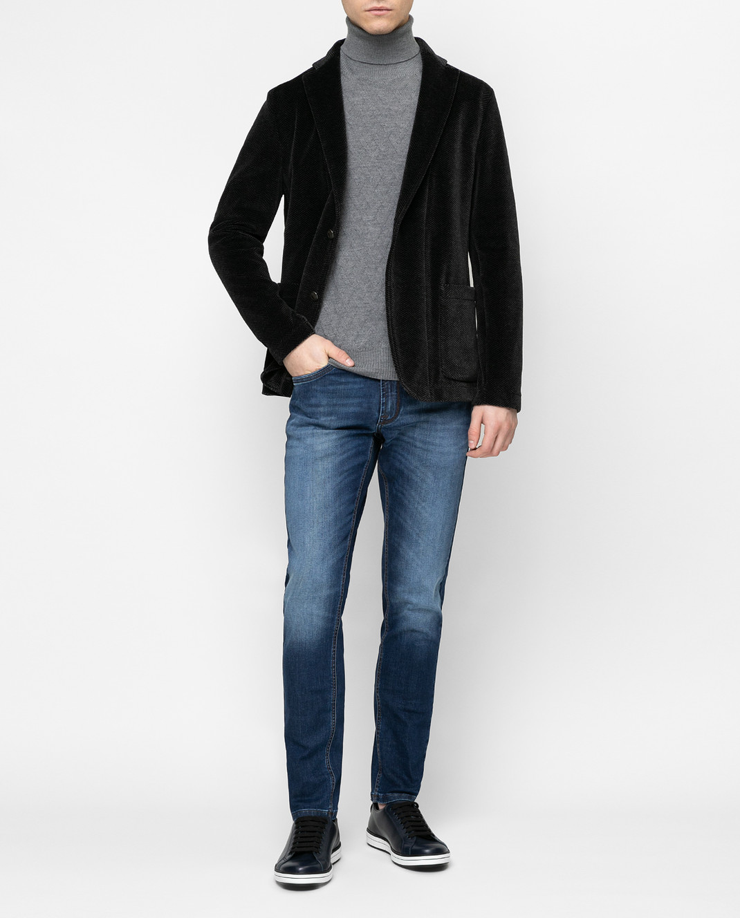 Fradi Серый пиджак 192POSTAGE6607