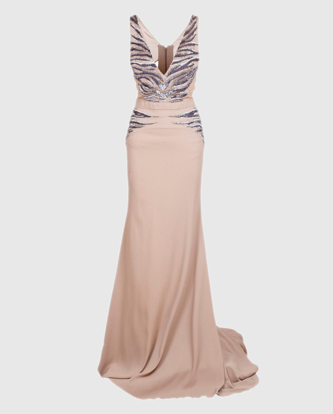 Roberto Cavalli Серое платье XPR912
