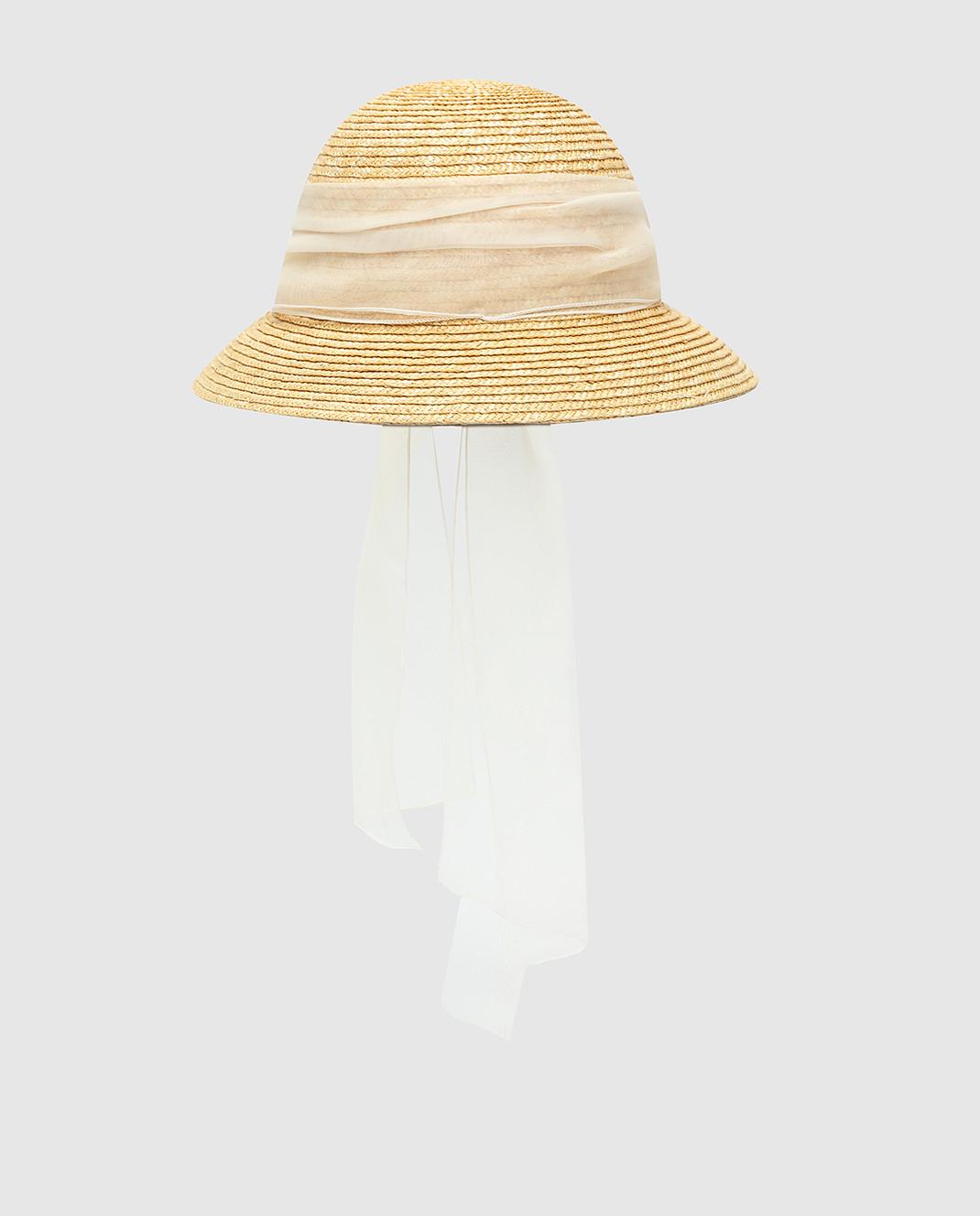 CAF Детская бежевая шляпа 020