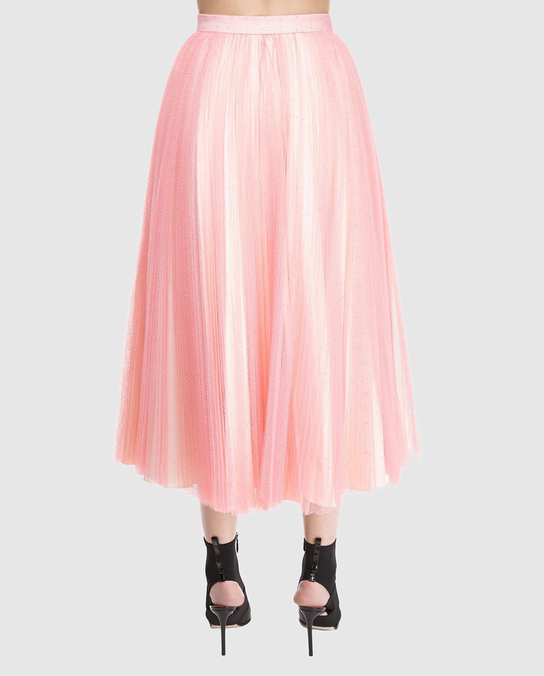 Philosophy di Lorenzo Serafini Розовая юбка V0126 изображение 4