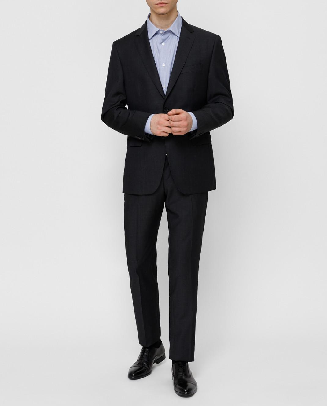 Fradi Тёмно-синий костюм 192AJ7025944 изображение 2