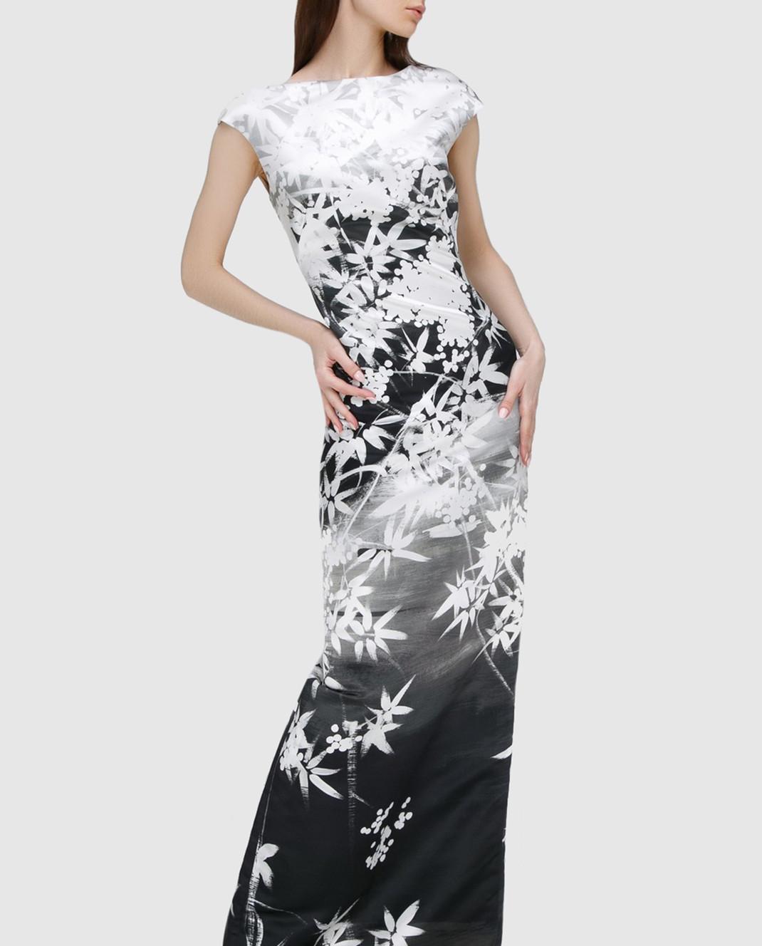 Alexander Terekhov Серое платье из шелка изображение 2