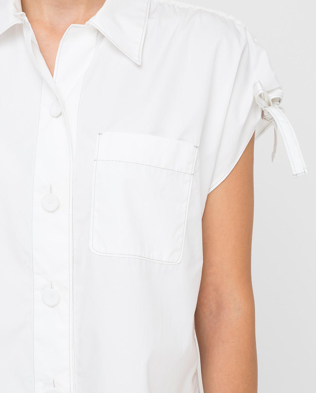 Prada Белая рубашка P469A изображение 5