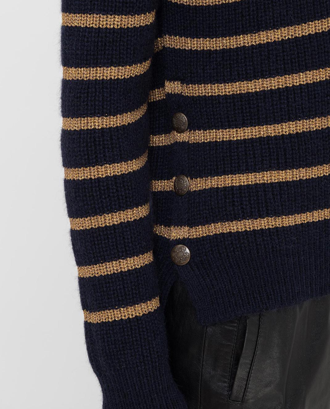 Twin Set Темно-синий свитер изображение 5