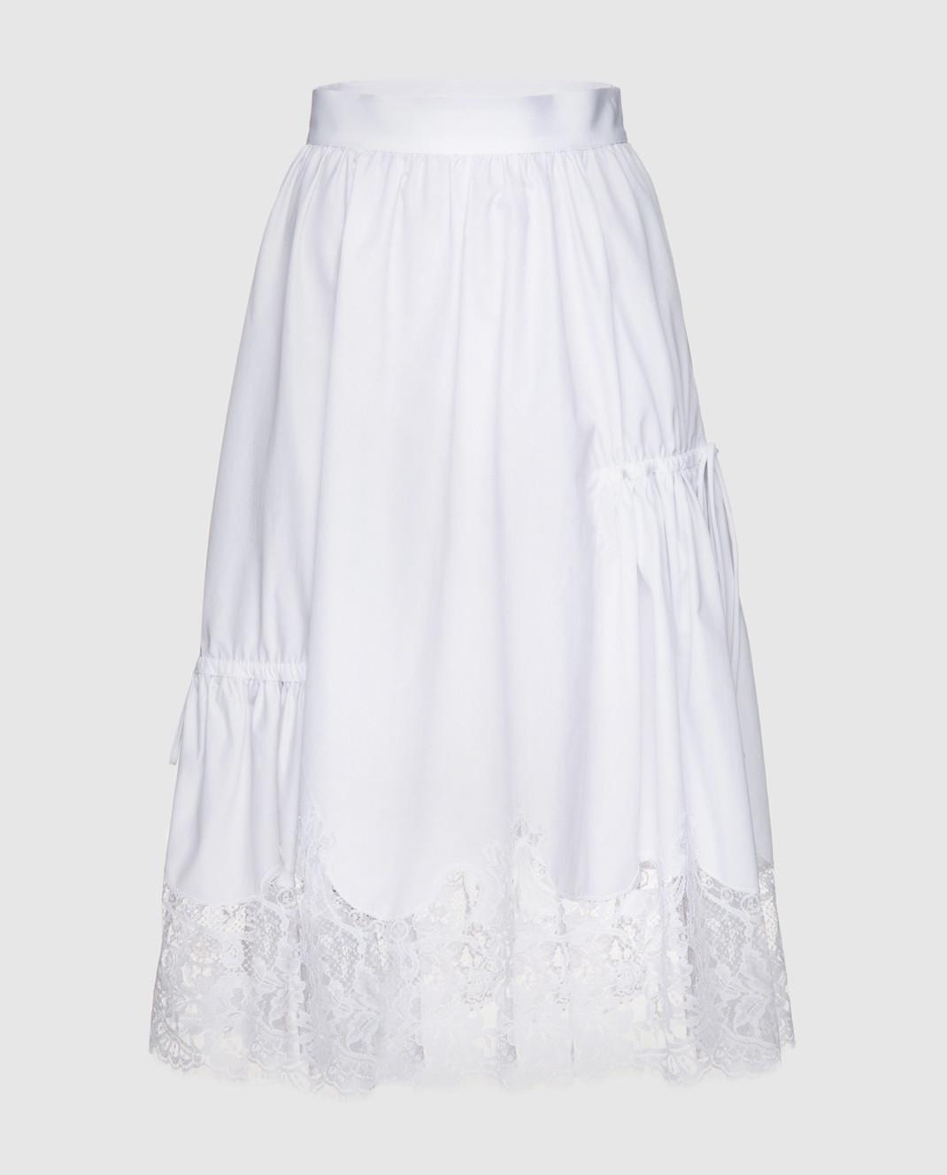 Ermanno Scervino Белая юбка D322O317MSC