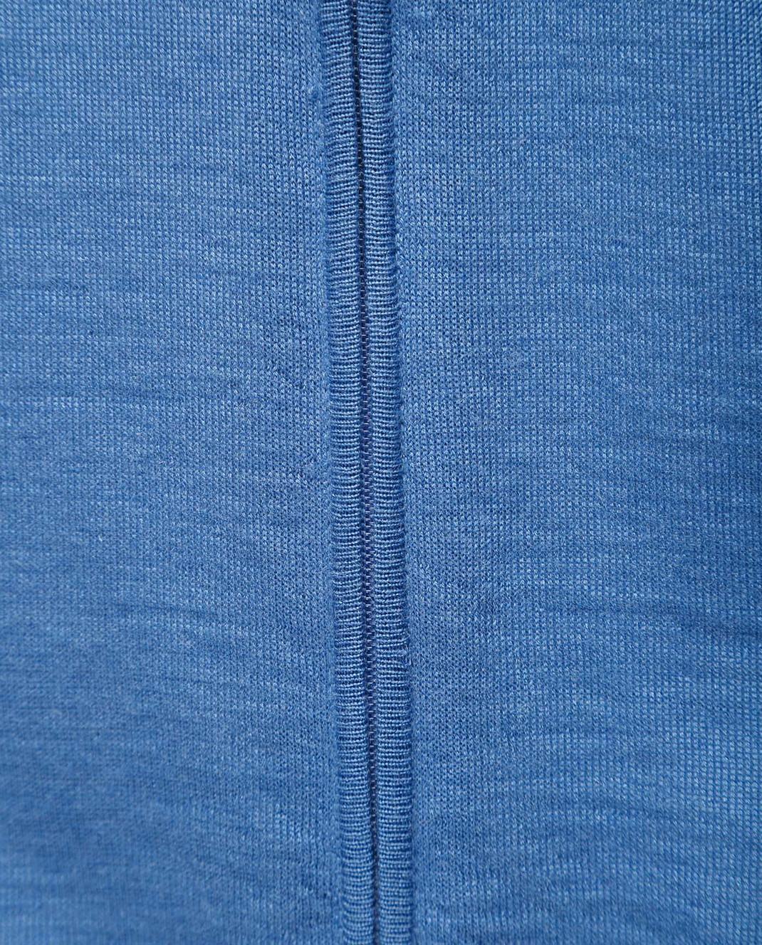 Ones Голубой жилет из кашемира и шелка T056 изображение 5