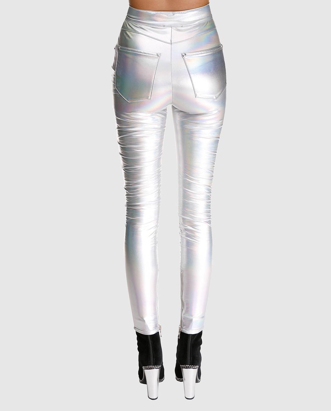 Balmain Серебристые брюки изображение 4