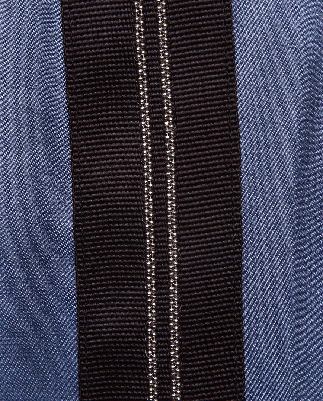 Brunello Cucinelli Синяя блуза M0H34S0720 изображение 5