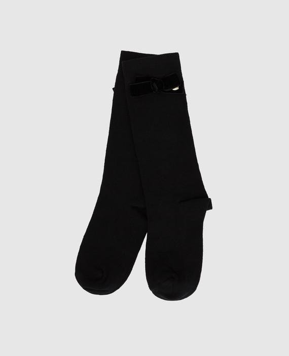Детские черные носки hover