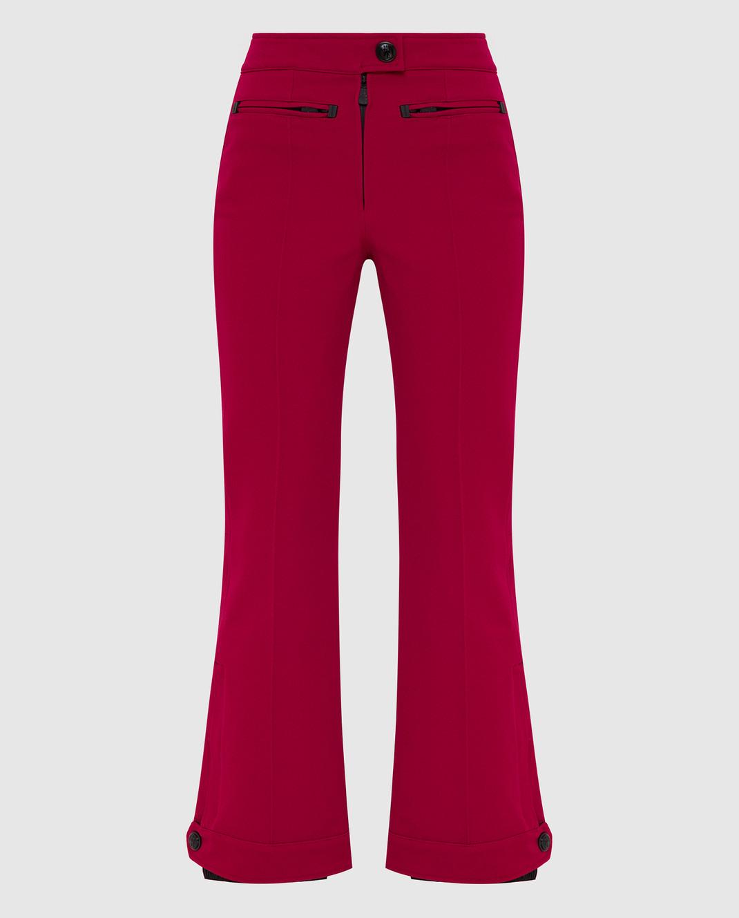 Moncler Grenoble Малиновые лыжные брюки изображение 1