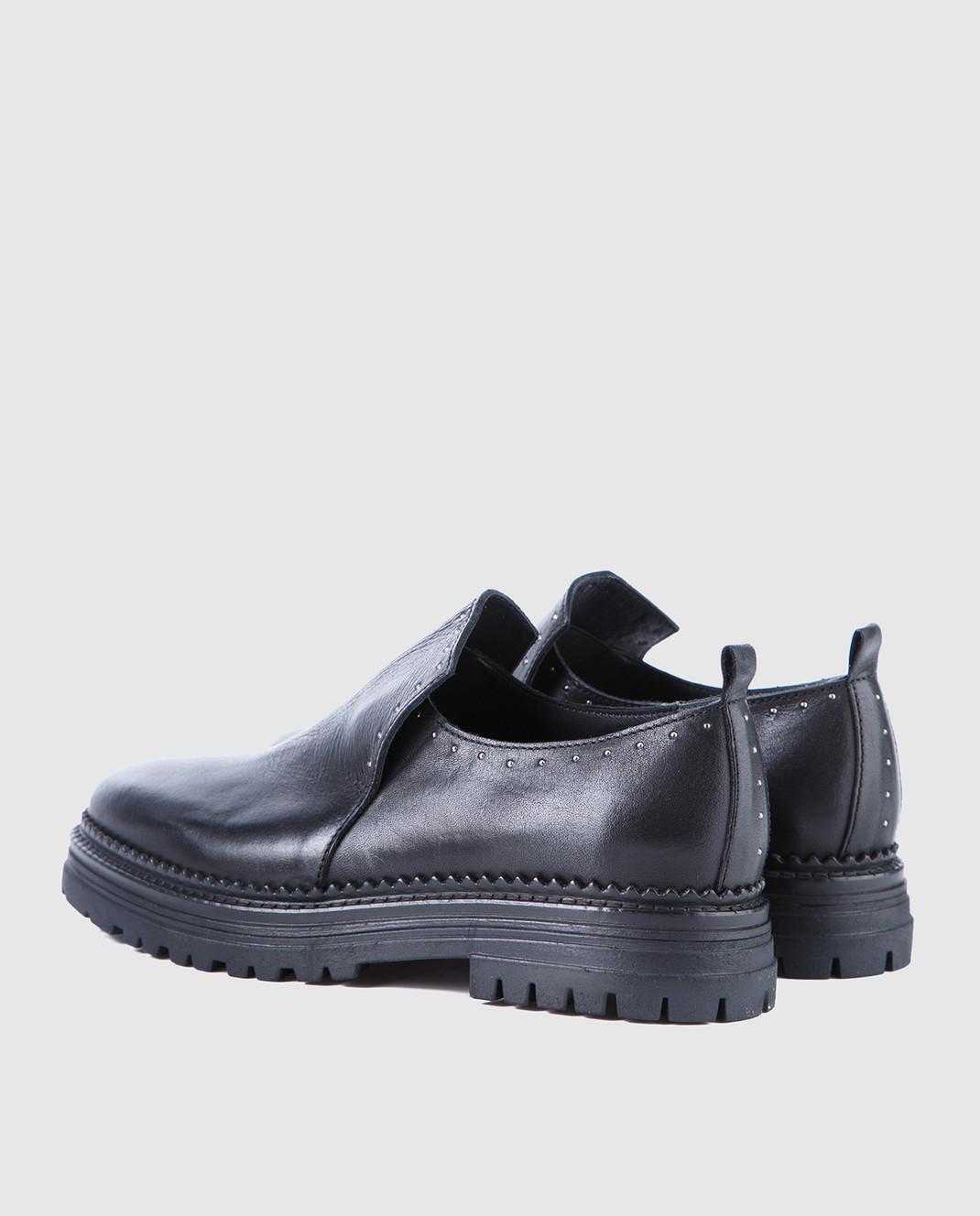 Fru it Черные кожаные туфли 4977 изображение 3