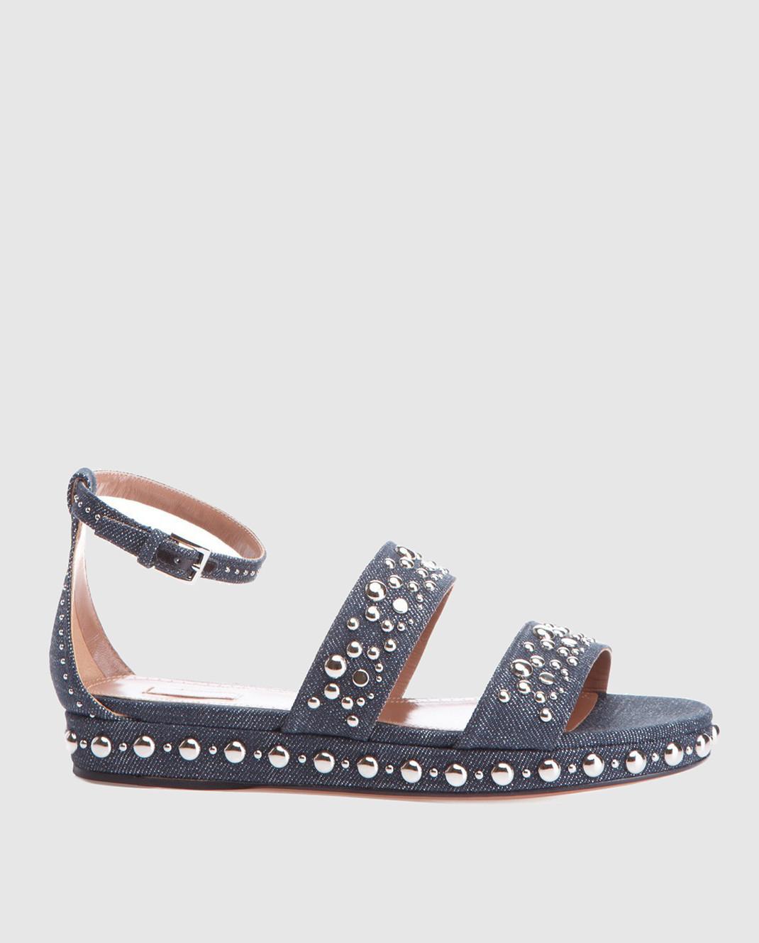 Azzedine Alaia Синие сандалии изображение 1