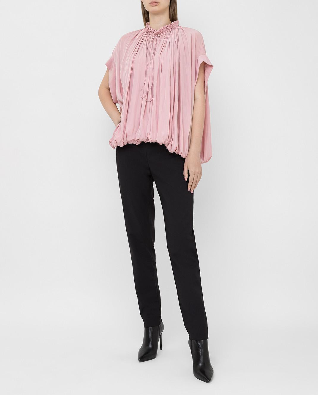 Lanvin Розовая блуза изображение 2