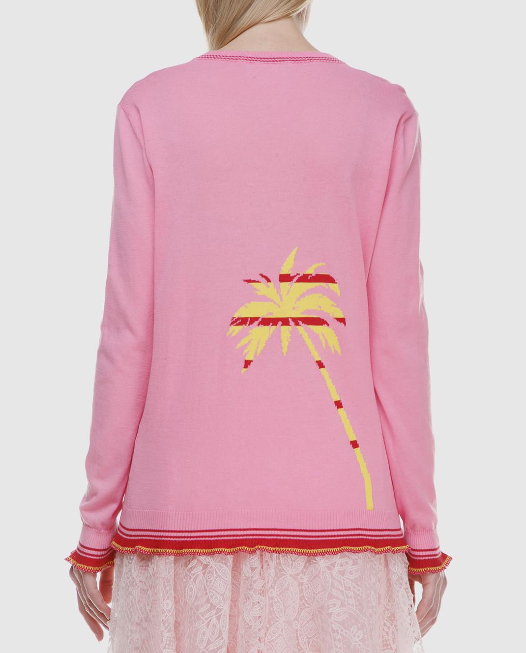 Ermanno Scervino Розовый пуловер изображение 4