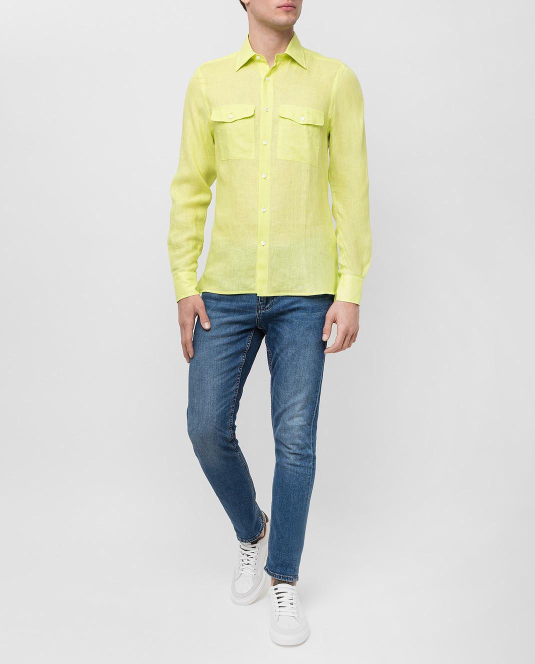 Ermanno Scervino Рубашка из льна изображение 2