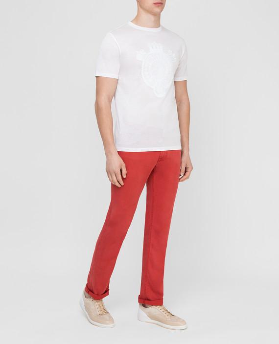 Красные джинсы hover
