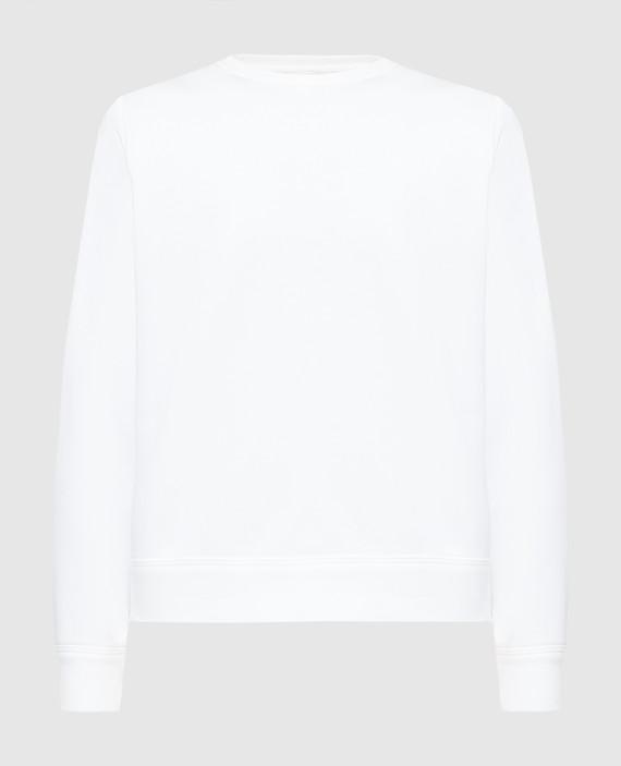 Белый свитшот