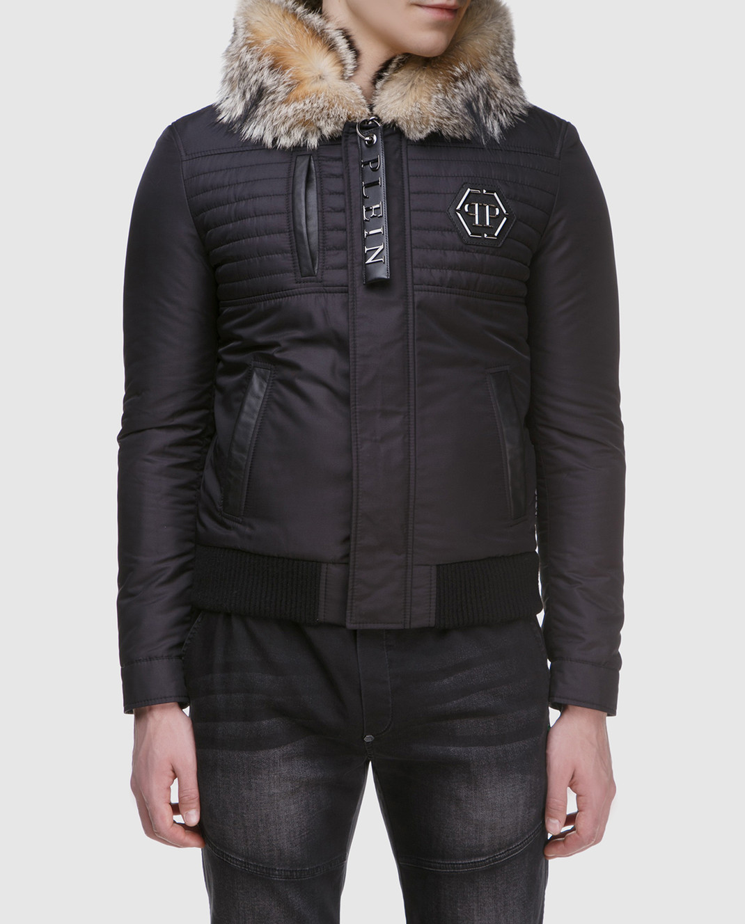 Philipp Plein Черная куртка MRB0340 изображение 3
