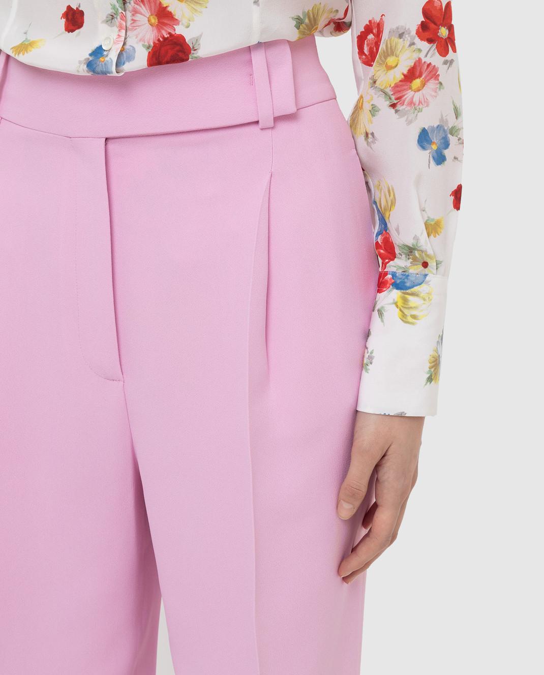 Ermanno Scervino Розовые брюки D366P302UKF изображение 5