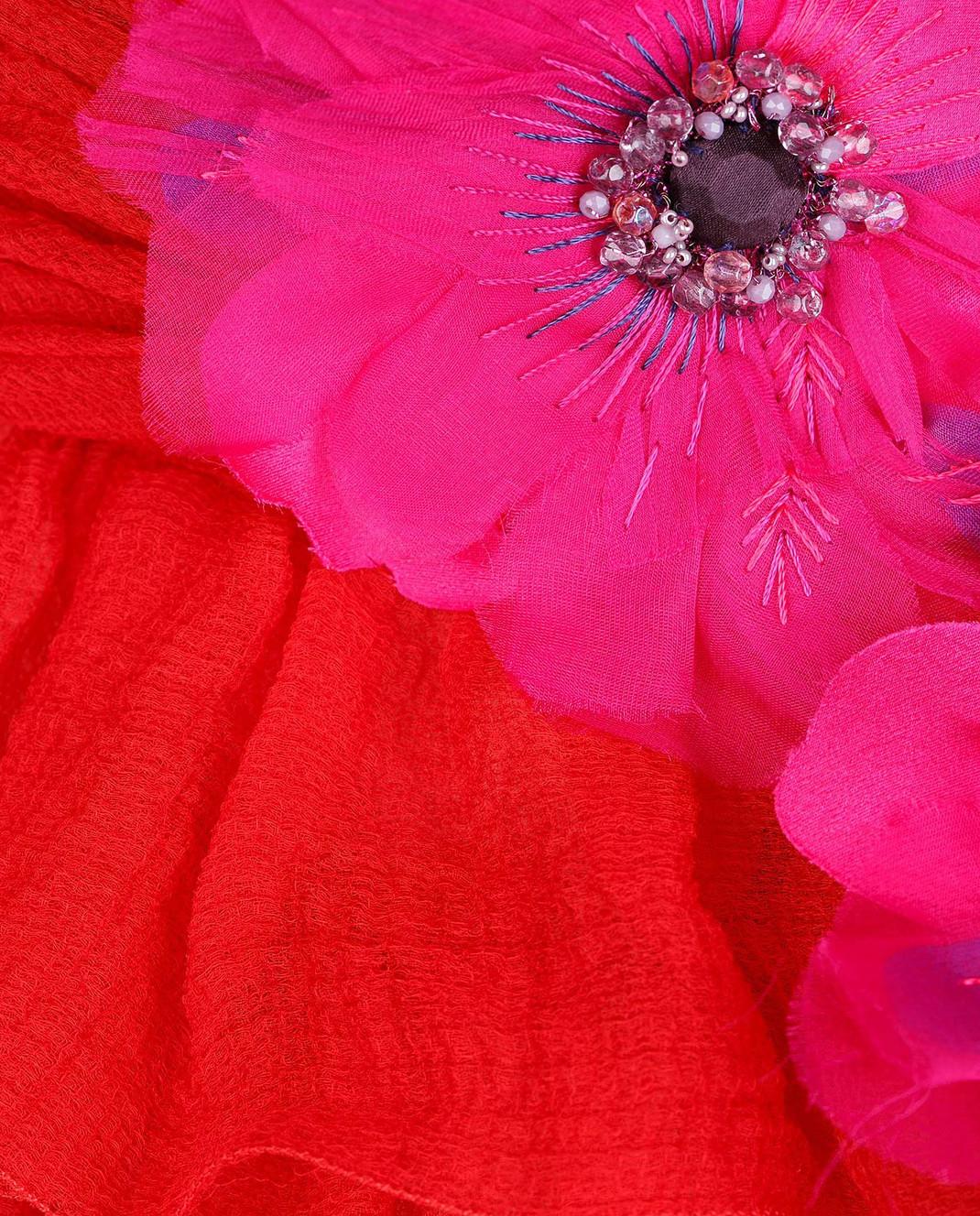 Dolce&Gabbana Красное платье F62R5ZFU1KK изображение 6