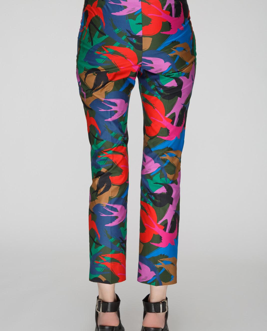 Sonia Rykiel Темно-зеленые брюки 15329342 изображение 4