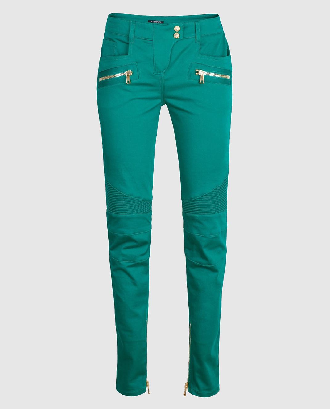 Balmain Зеленые брюки 5356347N