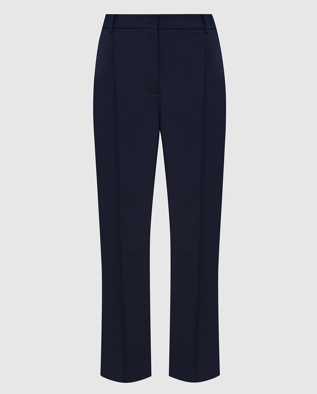 Max Mara Sportmax Темно-синие брюки FATA