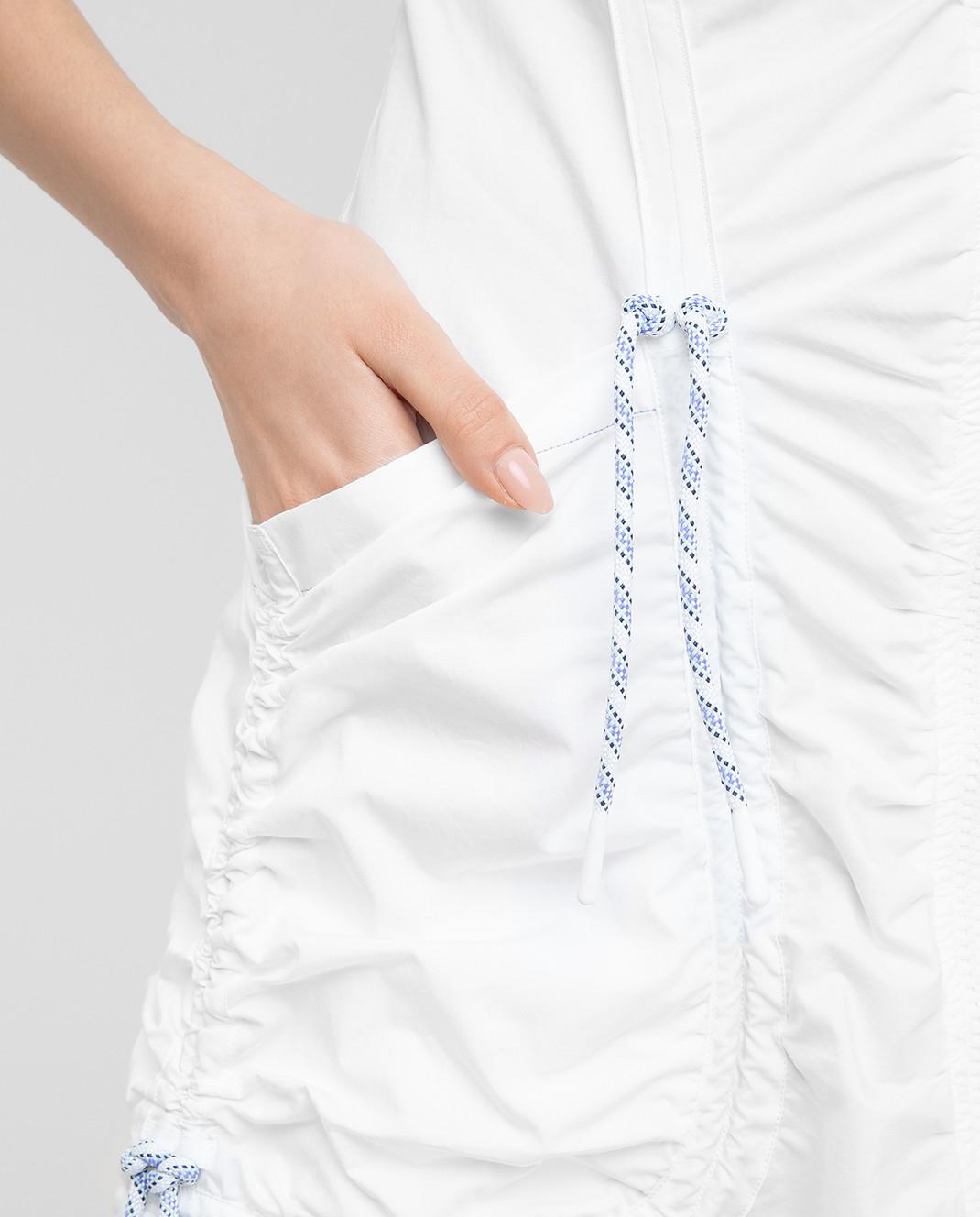 Max Mara Sportmax Белое платье  ELMI изображение 5