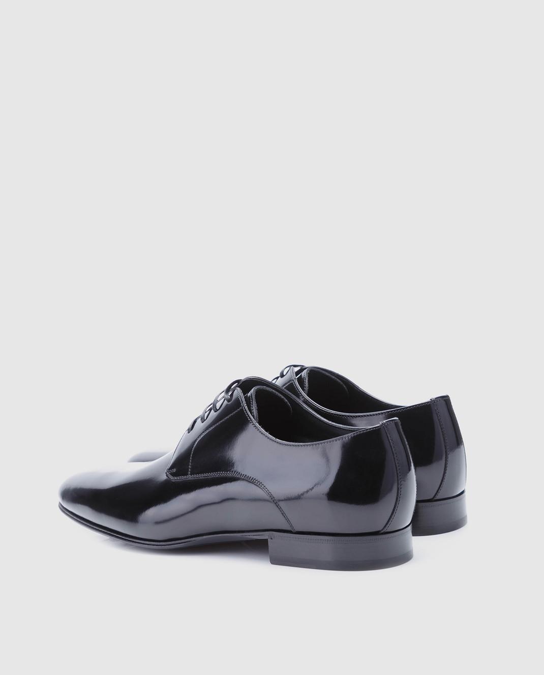 Dolce&Gabbana Черные кожаные дерби A10379A1203 изображение 3
