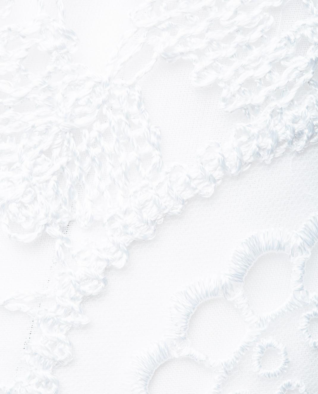Charo Ruiz Белое платье с кружевом 00354 изображение 4