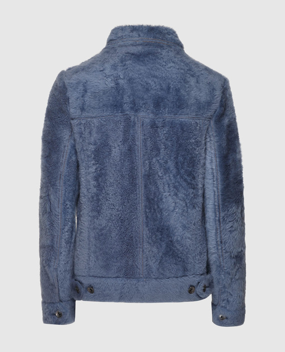 Синяя куртка hover